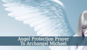 Angel Protection Prayer
