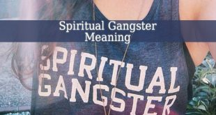 Spiritual Gangster Meaning