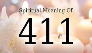Spiritual Meaning Of 411