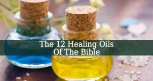 12 Healing Oils Of The Bible