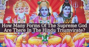 How Many Forms Of The Supreme God Are There In The Hindu Triumvirate?