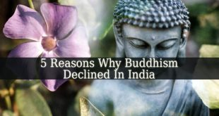 Buddhism Was India's Dominant Religion In 100 BCE And Then It