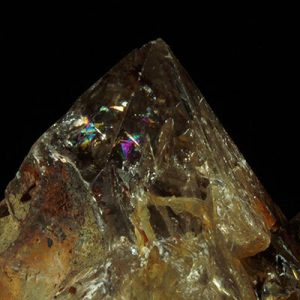citrine Rainbow Quartz Crystals